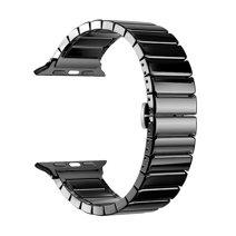 Блочный браслет из керамики Deppa Band Ceramic для Apple Watch 42 и 44 мм