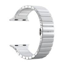Блочный браслет из керамики Deppa Band Ceramic для Apple Watch 38 и 40 мм