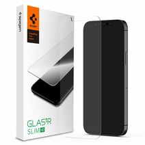 Защитное стекло Spigen GLAS.tR SLIM HD для iPhone 12 и 12 Pro (2D, 9H; олеофобное покрытие)