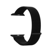 Нейлоновый спортивный браслет с застёжкой-липучкой Deppa Band Nylon для Apple Watch 42 и 44 мм