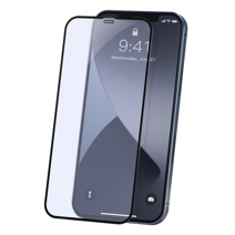 Защитное стекло Deppa для iPhone 12 Pro Max (2.5D, 0,3 мм, 9H; полная проклейка, олеофобное покрытие)