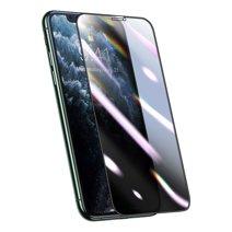 Композитное защитное стекло с фильтром конфиденциальности и установочной рамкой Baseus для iPhone X, XS и 11 Pro
