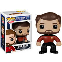 Фигурка Funko Pop Звёздный Путь: С.П. - Уильям Райкер (Star Trek: The Next Generation - Will Riker)