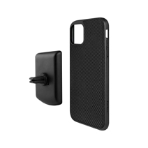 Защитный чехол и магнитный автомобильный держатель Evutec AERGO для iPhone 11