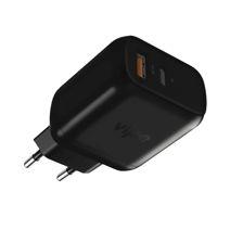 Адаптер питания Vipe Travel Station XS мощностью 18 Вт (USB-C PD, USB-A QC 3.0)