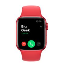 Apple Watch Series 6 GPS, 40mm, корпус из алюминия цвета (PRODUCT)RED, спортивный ремешок цвета «(PRODUCT)RED»