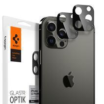 Защитное стекло для камеры Spigen GLAS.tR Optik для iPhone 12 Pro Max (комплект — 2 шт.)
