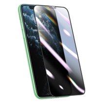 Композитное защитное стекло с фильтром конфиденциальности и установочной рамкой Baseus для iPhone XR и 11 (3D, 0,25 мм)