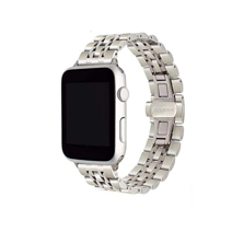 Блочный браслет из нержавеющей стали COTEetCI W27 для Apple Watch 38 и 40 мм