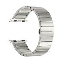 Блочный браслет из нержавеющей стали Deppa Band Steel для Apple Watch 42 и 44 мм