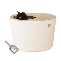 Туалет с совком для кошек IRIS Top Entry Cat Litter Box with Cat Litter Scoop