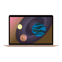 Apple MacBook Air 13 Retina MVFN2 Gold (1,6 GHz, 8GB, 256Gb, Intel UHD Graphics 617)