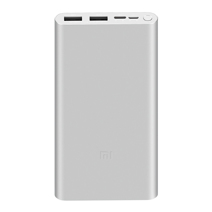 Аккумулятор Xiaomi Mi Power Bank 3 (10000 мА·ч, 18 Вт, 2 USB-A)