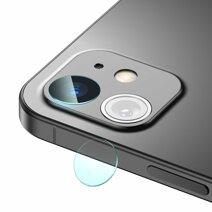 Защитное стекло для объективов камеры Baseus Gem для iPhone 12 и 12 mini (0,25 мм; 2 комплекта)