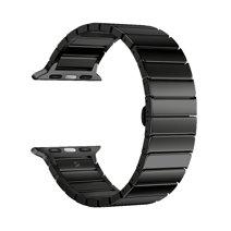 Блочный браслет из нержавеющей стали Deppa Band Steel для Apple Watch 38 и 40 мм