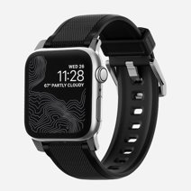 Силиконовый ремешок Nomad Rugged Strap для Apple Watch 42 и 44 мм Black
