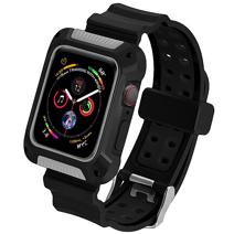 Силиконовый ремешок-чехол COTEetCI W39 для Apple Watch 40 мм