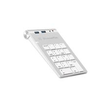 Цифровая клавиатура со встроенным хабом XtremeMac (2 USB-A 3.0, вход 3,5 мм, разъём 3,5 мм)