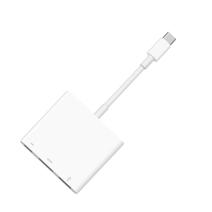 Многопортовый цифровой AV-адаптер Apple с кабель-коннектором USB-C (USB-C, USB-A, HDMI)