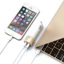 Автомобильное зарядное устройство Satechi мощностью 48 Вт (USB-C, USB-A)