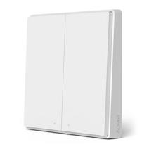 Беспроводной настенный выключатель Xiaomi Aqara Wireless Switch D1 (двухклавишный) (WXKG07LM, CN)