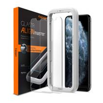 Защитное стекло с установочной рамкой Spigen AlignMaster GLAS.tR для iPhone X, XS и 11 Pro (2 шт.)