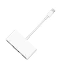 Многопортовый адаптер Apple с кабель-коннектором USB-C (USB-C, USB-A, VGA)