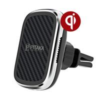Автомобильный держатель с беспроводной зарядкой Pitaka MagEZ Mount Qi Car Vent CM3001Q (10 Вт)