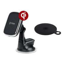 Автомобильный держатель с беспроводной зарядкой Pitaka MagEZ Mount Qi Suction Cup CMS3001Q (10 Вт)