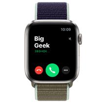 Apple Watch Series 5 Edition GPS + Cellular, 44mm, корпус из титана, спортивный браслет (Sport Loop) цвета «лесной хаки»