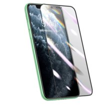 Композитное защитное стекло с установочной рамкой Baseus для iPhone XR и 11 (3D, 0,25 мм; олеофобное покрытие)