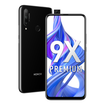 Смартфон Huawei Honor 9x 4/128 GB Чёрный / Black РСТ
