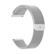 Универсальный миланский сетчатый браслет из нержавеющей стали с магнитной застёжкой Deppa Band Mesh для часов с креплением 22 мм