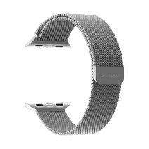 Миланский сетчатый браслет из нержавеющей стали с магнитной застёжкой Deppa Band Mesh для Apple Watch 38 и 40 мм