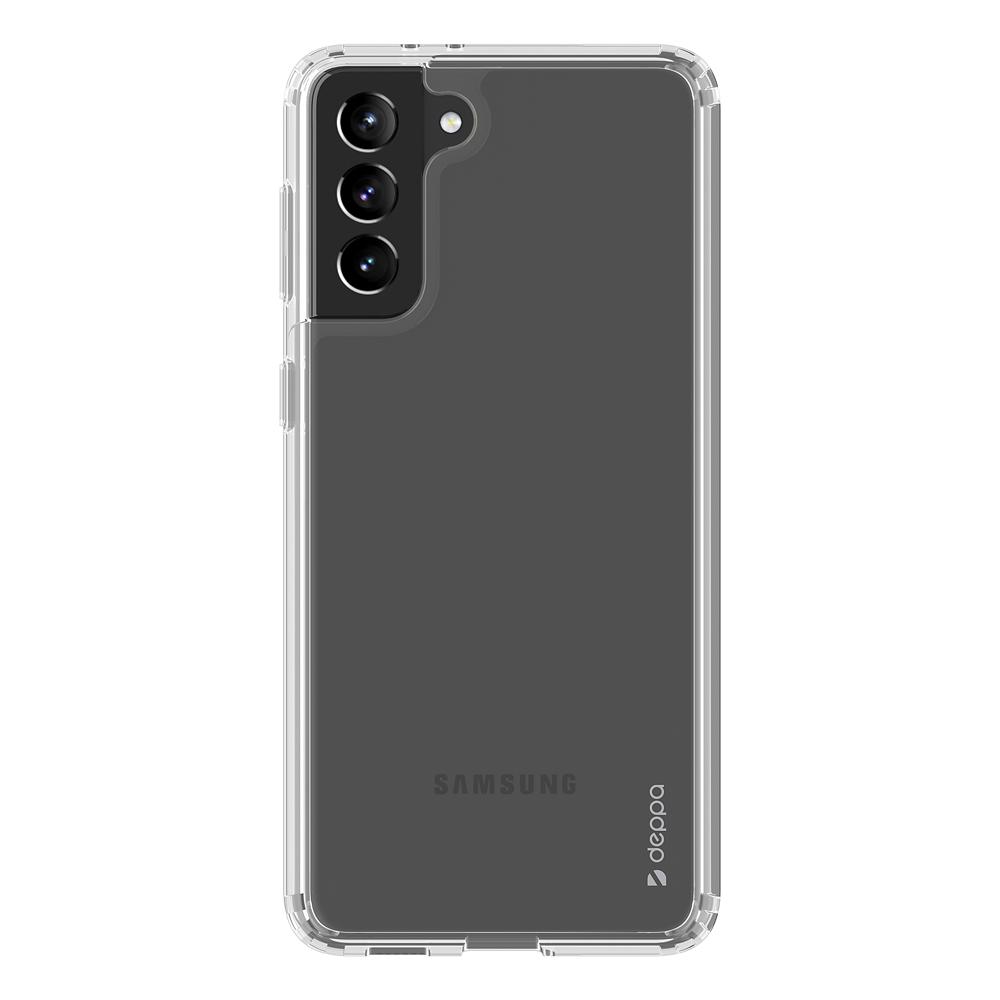 Защитный гибридный чехол Deppa Gel Pro для Samsung Galaxy S21+ 5G Цвет: Прозрачный | Clear